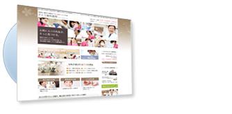 ドクターの自己紹介や写真の多いビジュアル系サイト